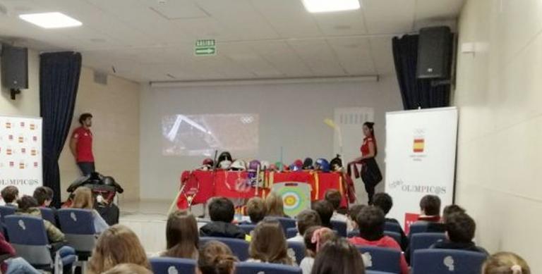 """Esta mañana, 5 de febrero, hemos celebrado con nuestros alumnos de 6º de Primaria la actividad """"Todos Olímpicos"""" en Colegio BASE."""